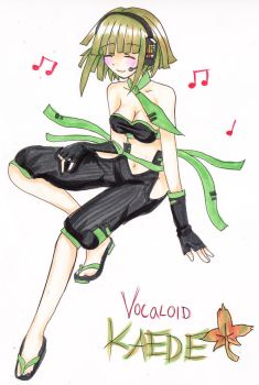 Vocaloid Kaede by mosspluse