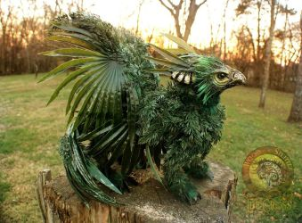 Sold, Poseable Forest Griffin! by Wood-Splitter-Lee