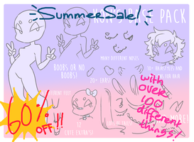 SUMMER SALE 60% OFF BASEPACK w/ OVER 100+ THINGS! by Joltikon