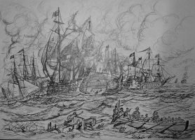 Battle of Camperdown by trafalgarhero