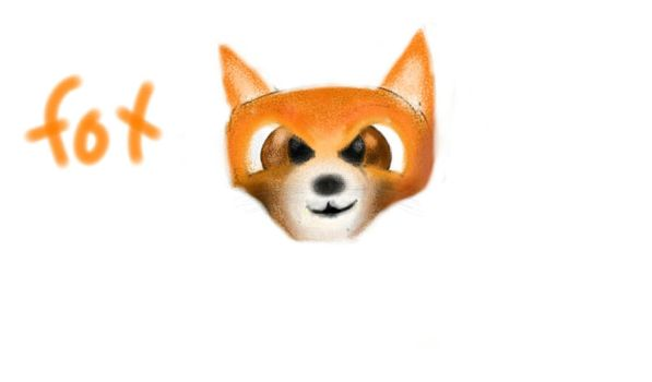 just a fox face by AfroFCP