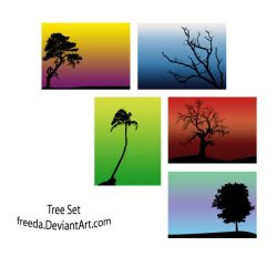 Tree Set by freeda