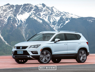 2019 SEAT Ateca Allspace US Spec by dly00