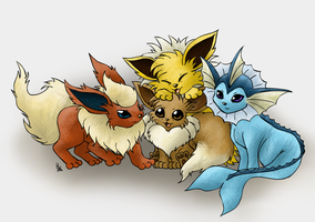 All about Eevee by hyperwolfy