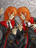 Fred and George by ElementalAngel