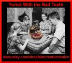 Yorick With the Bad Teeth Collage 1 by aberrantceramics