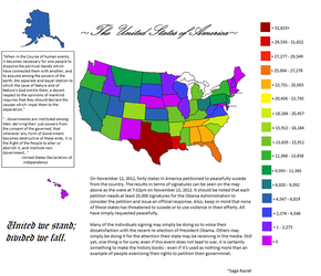 United States Petitions to Sucede Heat Map 2012 by Sageraziel
