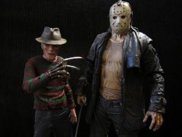 Freddy Vs. Jason the REMAKE by Police-Box-Traveler