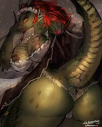 [Practice]Lusty Argonian Maid by girlsay