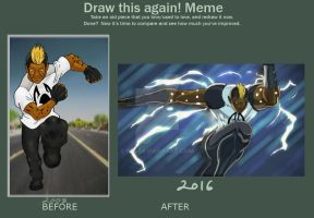 run drawing again meme by 585