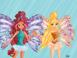 Aisha and Stella : together by DaisyHarvey