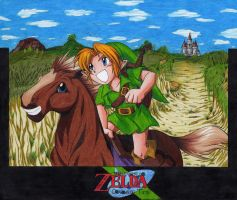 Link to Epona by Yin-y-Yang