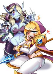 Jaina and Sylvanas by Sagas293