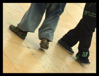 hiphop feet by muratalibaba