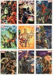 Marvel Originals - Card Subset by felipemassafera