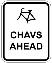 Chavs Ahead by Xerces