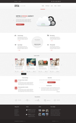 Crystal PSD Theme by Arianeet