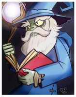 Wizard Zombie by Call-Me-Fantasy
