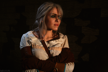 Crying Ciri by TophWei