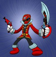 Marvelous - Gokai Red! by SeanRM