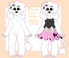 /Blanche.Anthro.Ref/ by ufohouse