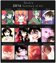2016 Summary of Art by Rylitah
