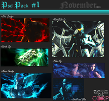 First PSD Pack by X-etc