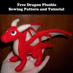 Dragon Plushie Sewing Pattern and Tutorial by rboy42