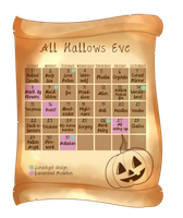 Hallowen event 3: Dextroluma CLOSED by Lunathyst