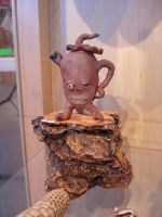 Root Baby Teapot by Geotjakra