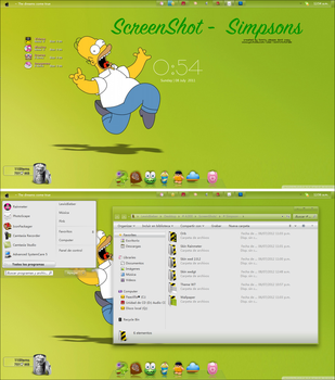 Simpsons (Screenshot + complementos) by a-Sonrix