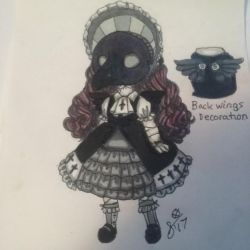Mini Masked Mysteries: Little Gothic Raven | NFS by InvaderIka