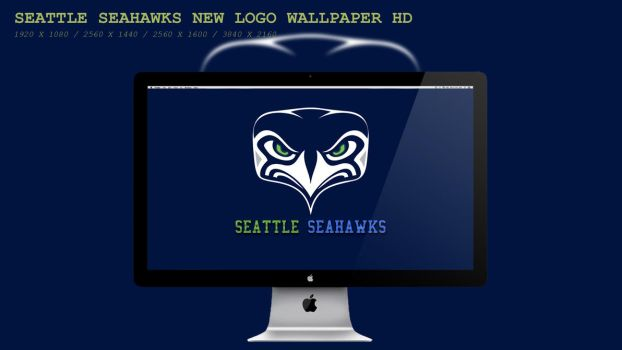 Seattle Seahawks New Logo Wallpaper HD by BeAware8
