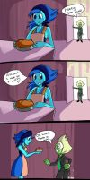 Domestic Lapidot Comic by slime-tiger