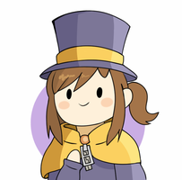 Hat Kid - A Hat in Time by ShivoArt