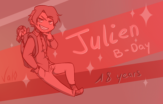 Happy Birthday Julien ! by Val-07