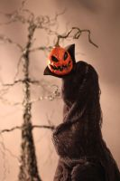 Cloaked Vampire Pumpkin II by LabyrinthCreations
