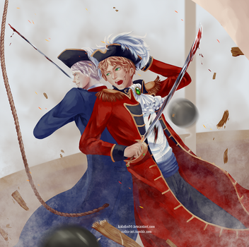 Damn You Prussia! by Kalafin99