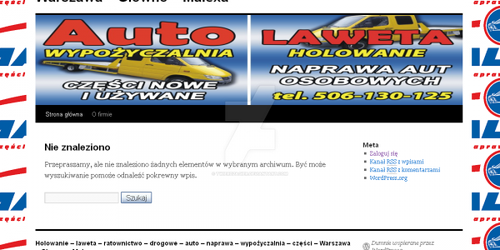 Auto towing website by twierdzagier