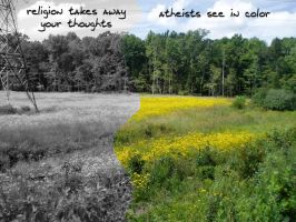 Atheism by lifeinphotos