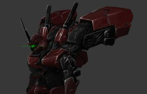 Mobile Suit Concept by ianskie1