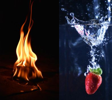 Fire and water by BlacksmithOWY