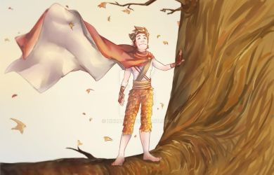 Autumn Spirit Hiccup - Widescreen by Zizzani