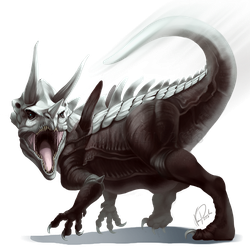 Aggron used Iron Tail! by ShadeofShinon