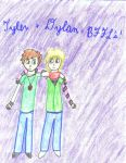 Tyler and Dylan are BFFL's 8D by PleasurelyPainful