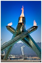 2010 Olympic Cauldron by RSphotoArt