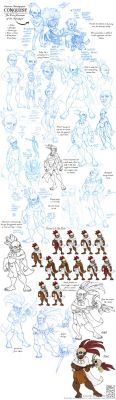 Character Development: Conquest by Quarter-Virus