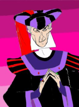 Sly Judge Claude Frollo by Reno-of-the-Turks