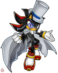 Kaito Shadow Sonic Channel by shadowhatesomochao
