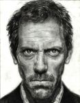 Hugh Laurie as House MD by PunhoDoSol